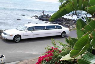 Limo to beachhouse