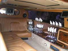 limousine coastline Rolls Royce Superstretched